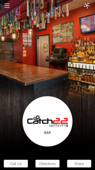 Catch 22 Gastropub Mobile App