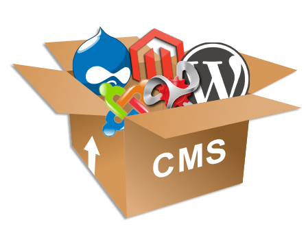 CMS Logos For Website Development