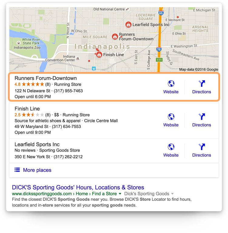 Google Ratings Impact Your Search Placement